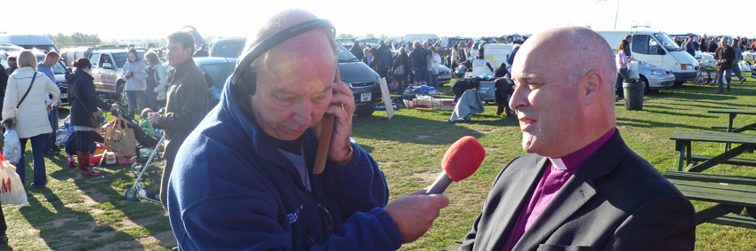 Bishop of Chelmsford Interviewed by BBC Essex at the Boreham Car Boot Sale  sc 1 st  Church at Car Boot Sale & Church at Car Boot Sale Press Page - Chelmsford Churches Working ... markmcfarlin.com